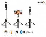 Držák SELFIE s Bluetooth ALIGATOR HA12, tripod, black