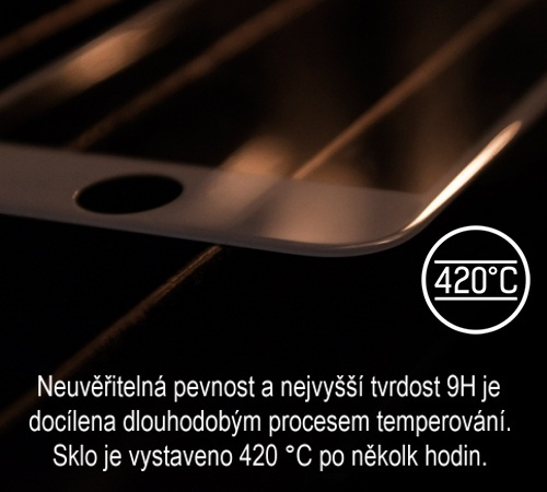 Tvrzené sklo 3mk HardGlass MAX pro Apple iPhone X, black