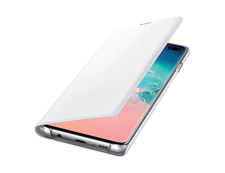 Samsung Flipcover LED View EF-NG975PWE pro Samsung Galaxy S10+ white