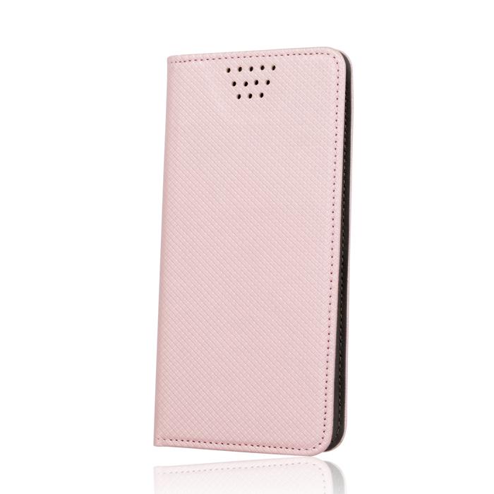 """Flipové pouzdro Smart Magnet typ B univerzální 5,5-5,7"""", růžové"""