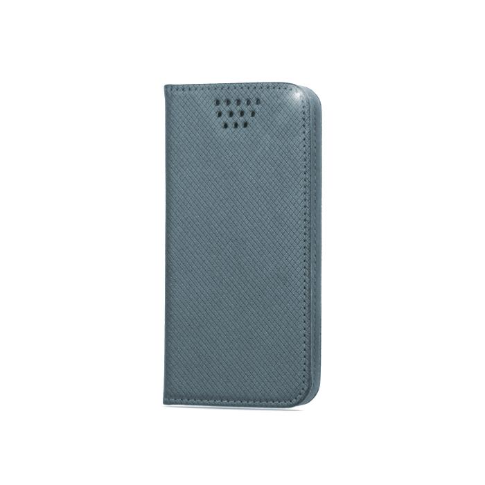 """Flipové pouzdro Smart Magnet typ B univerzální 5,5-5,7"""", šedé"""