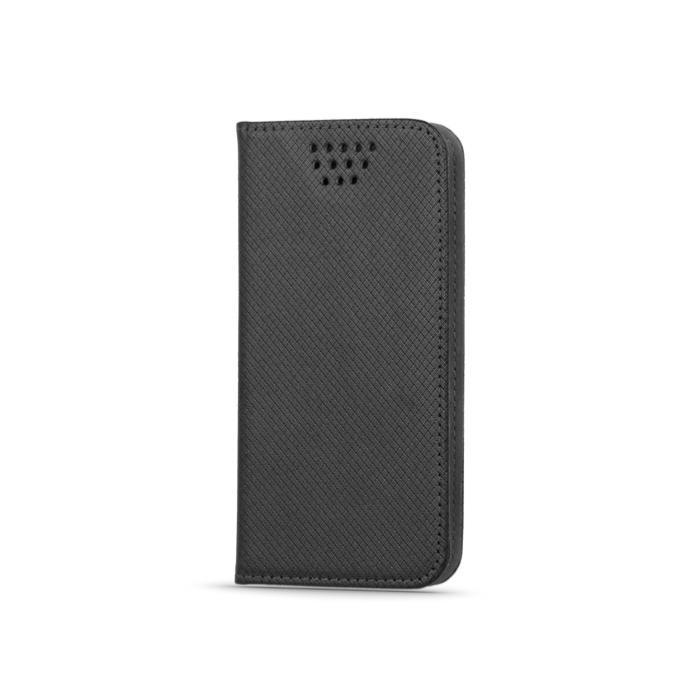 """Flipové pouzdro Smart Magnet typ B univerzální 5,5-5,7"""", černé"""