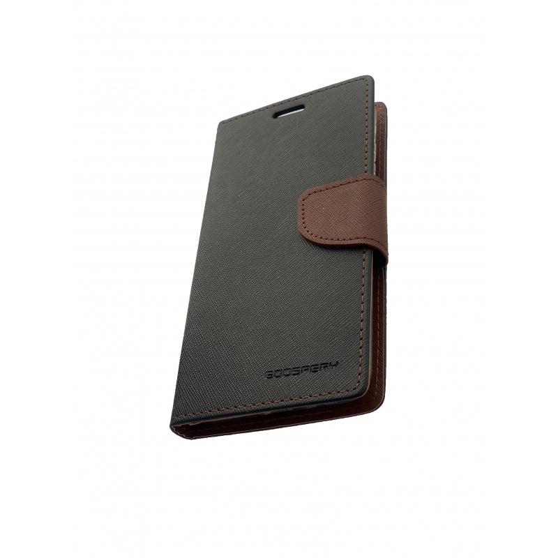 Fancy Diary flipové pouzdro pro Xiaomi Redmi 5 PLUS, black/brown