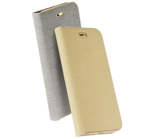 Pouzdro Forcell Luna Book pro Samsung Galaxy A40, gold