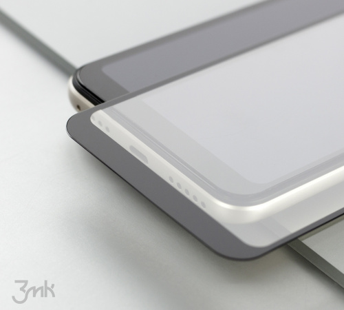 Tvrzené sklo 3mk HardGlass Max Lite pro Apple iPhone 11 Pro Max, černá