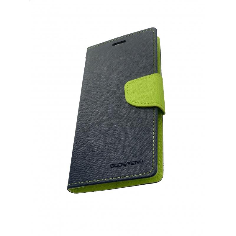 Fancy Diary flipové pouzdro pro Xiaomi Redmi 5 PLUS, navy/lime