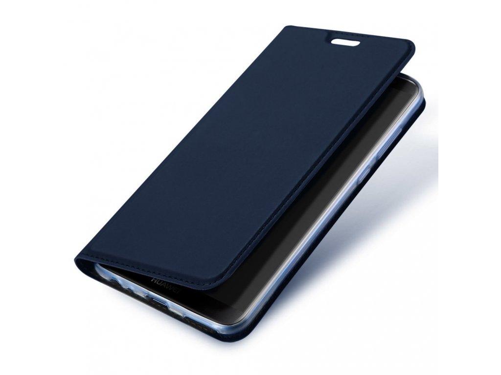 Flipové pouzdro Dux Ducis Skin pro Xiaomi Redmi 7, tmavě modrá