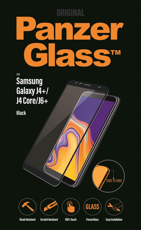 Ochranné sklo displeje PanzerGlass Edge to Edge pro Samsung Galaxy J4 plus, black