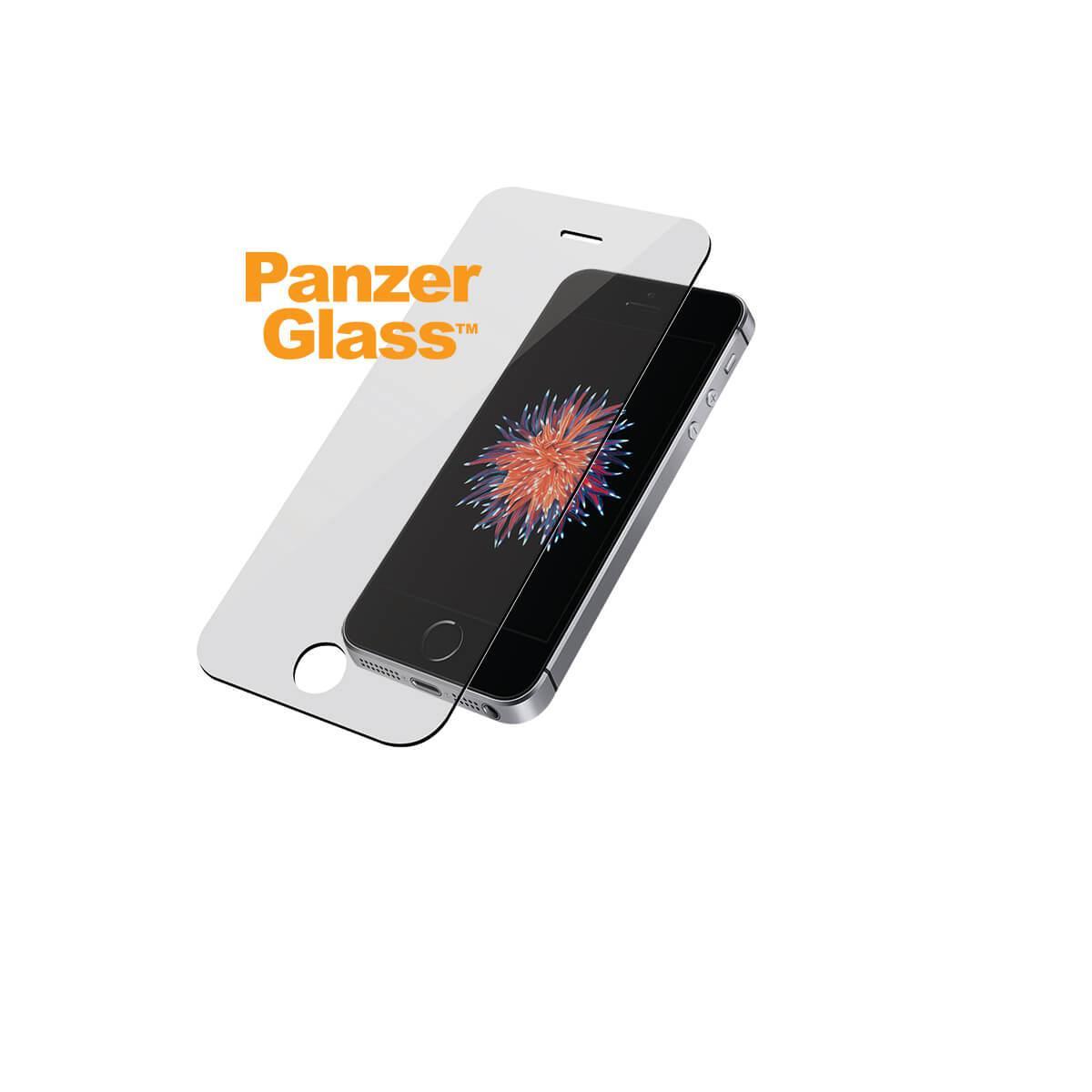 Ochranné sklo displeje PanzerGlass Edge to Edge Privacy pro Apple iPhone 5/5S/5SE, clear