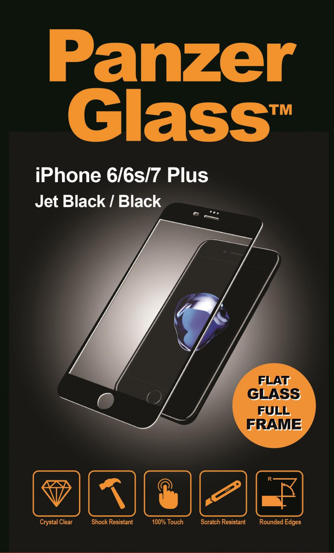 Ochranné sklo displeje PanzerGlass Edge to Edge pro Apple iPhone 6/6S/7/8 plus, black