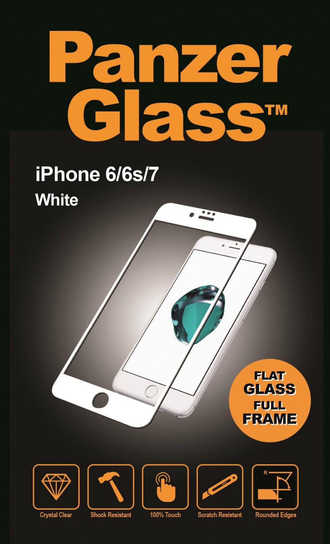 Ochranné sklo displeje PanzerGlass Edge to Edge pro Apple iPhone 6/6S/7/8, white