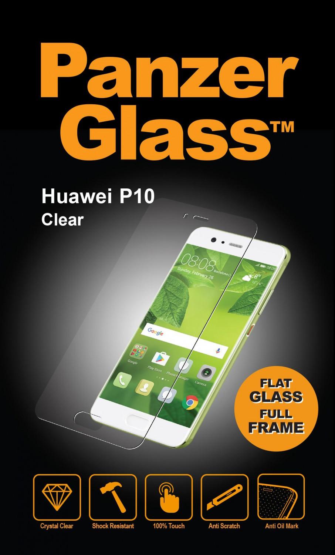 Ochranné sklo displeje PanzerGlass Edge to Edge pro Huawei P10, čiré