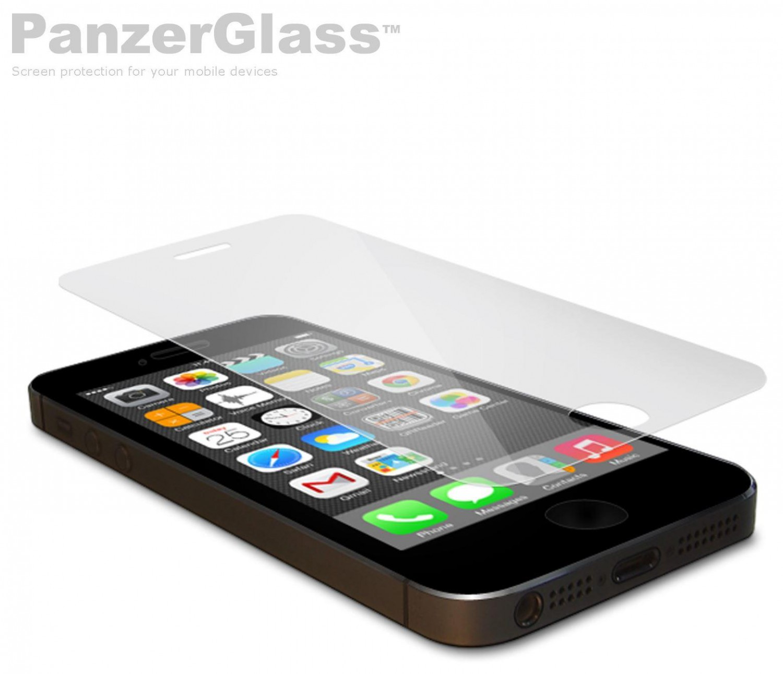 Ochranné sklo displeje PanzerGlass Edge to Edge pro Apple iPhone 5/5S/5C/SE, clear