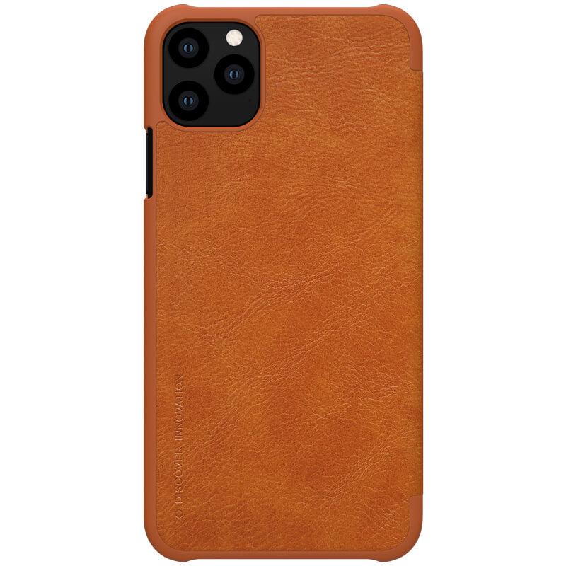 Nillkin Qin Book Pouzdro pro iPhone 11 Pro Brown