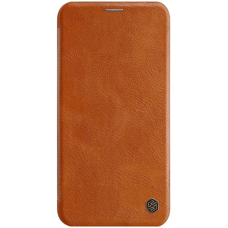 Nillkin Qin flipové pouzdro pro Apple iPhone 11 Pro, brown