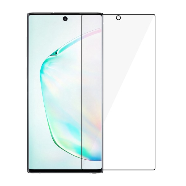 Tvrzené sklo ALIGATOR FULL COVER pro Samsung Galaxy Note 10, black