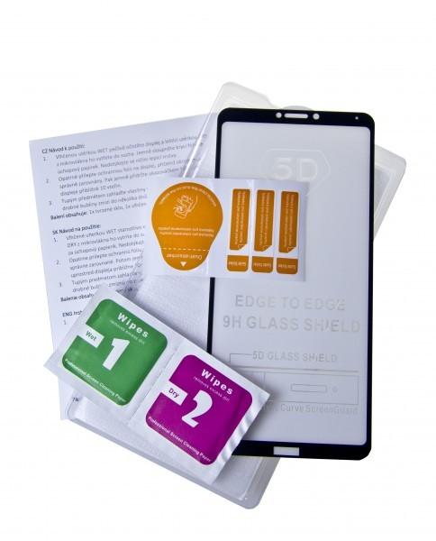 Ochranné tvrzené sklo ALIGATOR PRINT pro Huawei P Smart Z, black