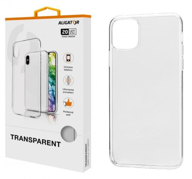 Levně Pouzdro TRANSPARENT ALIGATOR pro Apple iPhone 11 Pro Max