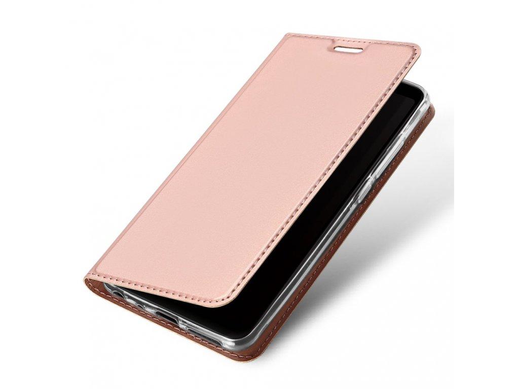 Flipové pouzdro Dux Ducis Skin pro Apple iPhone 11, světle růžová