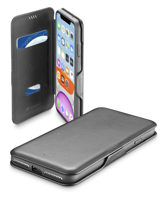 CellularLine Book Clutch flipové pouzdro Apple iPhone 11 Pro, černé