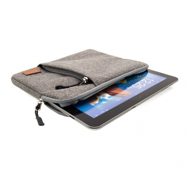 """FIXED Campus nylonové pouzdro pro tablety a notebooky do 12"""", šedé"""