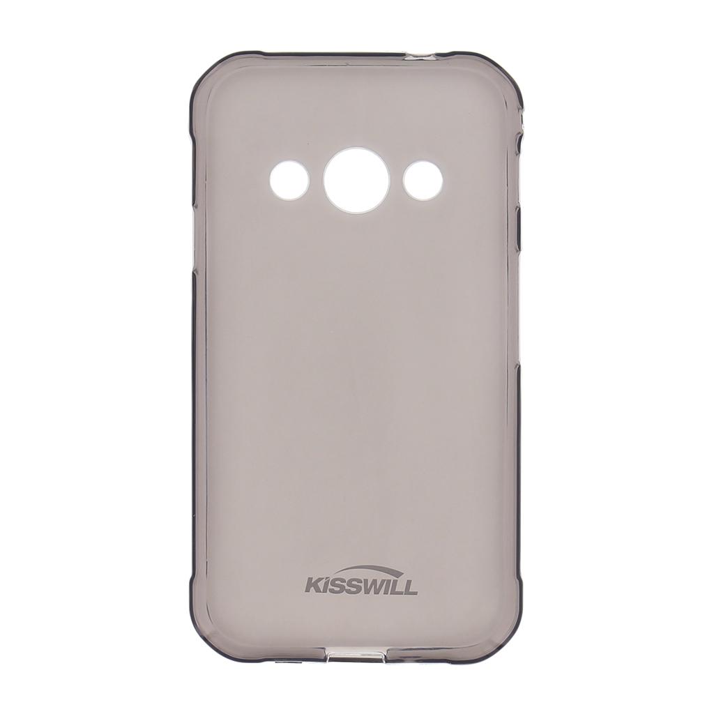 Silikonové pouzdro Kisswill pro Motorola One Action, černá