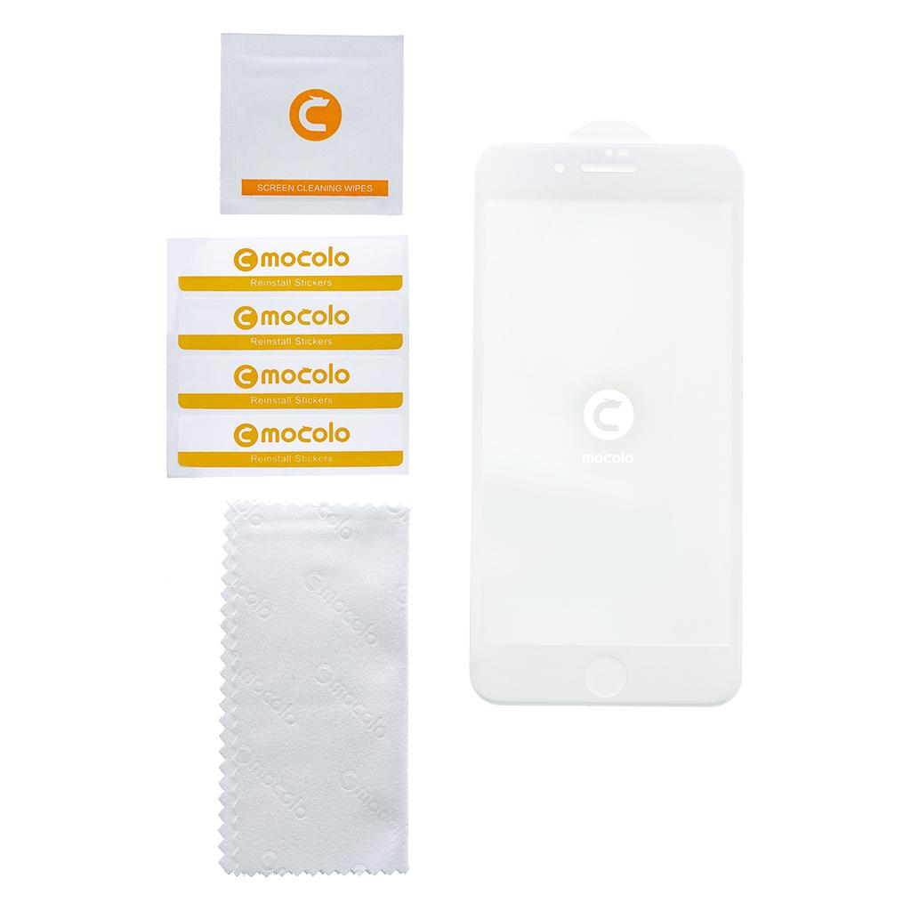 Tvrzené sklo Mocolo 5D pro Apple iPhone XS Max, white