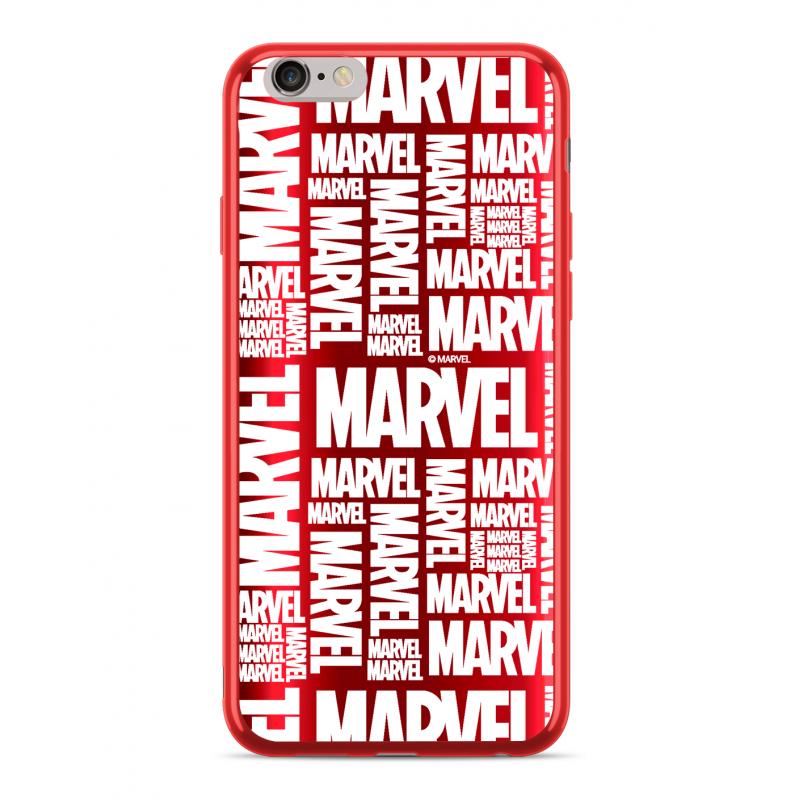 Zadní kryt Marvel 003 pro Apple iPhone 5/5S/SE, red