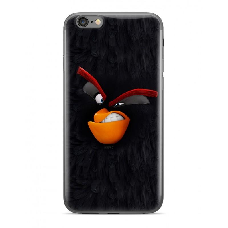 Zadní kryt Angry Birds 001 pro Apple iPhone X/Xs, black