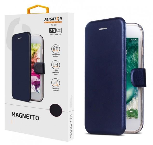 Flipové pouzdro ALIGATOR Magnetto pro ALIGATOR S6000, blue