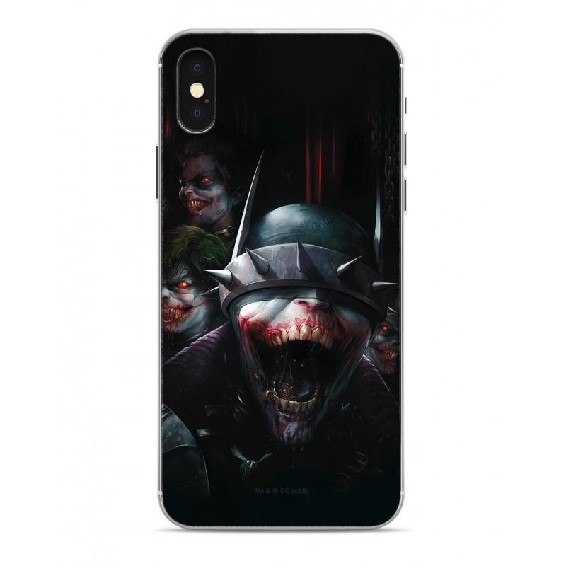 Zadní kryt Batman Who Laughs 003 pro Apple iPhone X/Xs, black