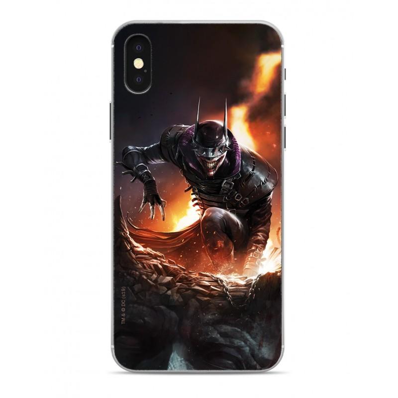 Zadní kryt Batman Who Laughs 001 pro Apple iPhone X/Xs, black