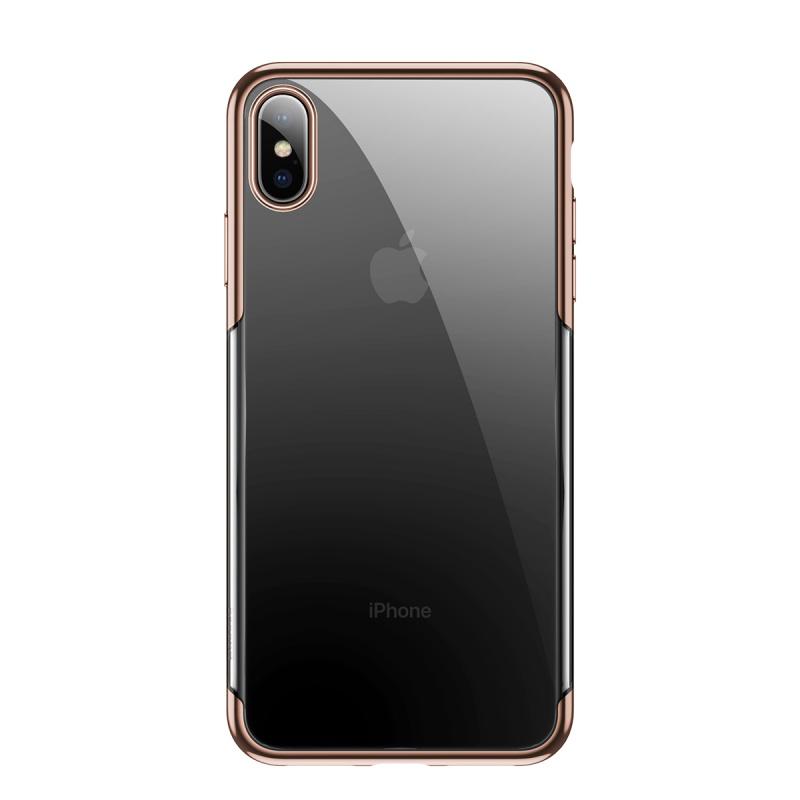 Zadní kryt Baseus Shining Case pro Apple iPhone XS Max, zlatá