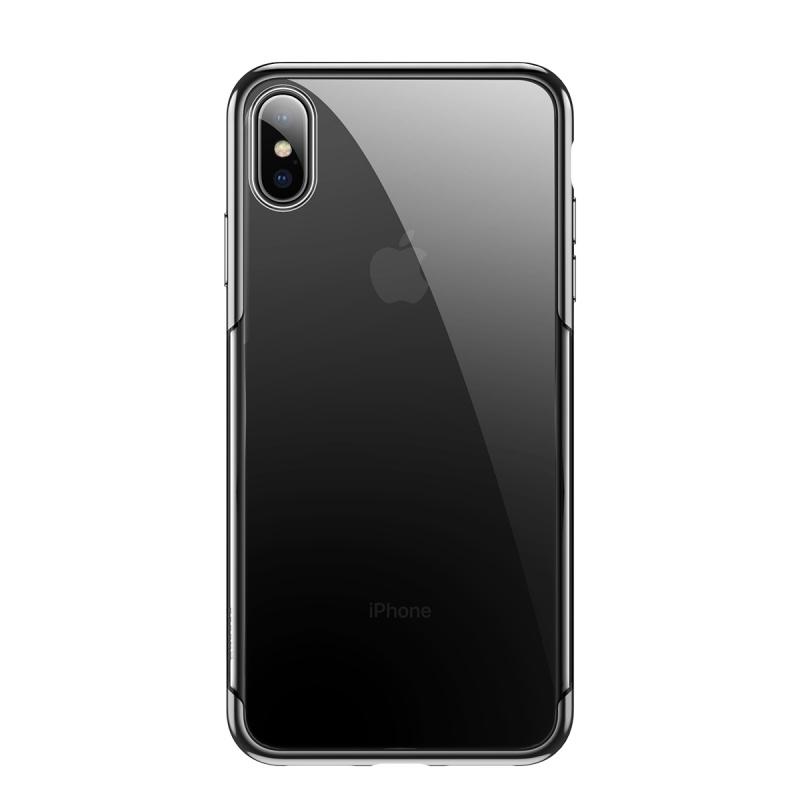 Zadní kryt Baseus Shining Case pro Apple iPhone X/XS, černá