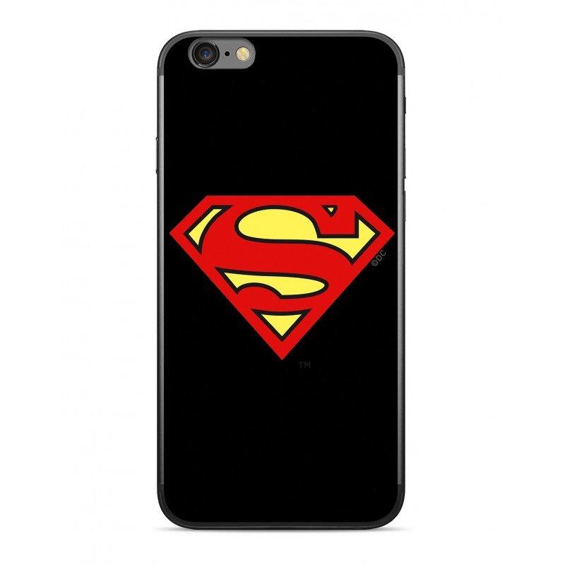 Zadní kryt Superman 002 pro Apple iPhone 5/5S/SE, black