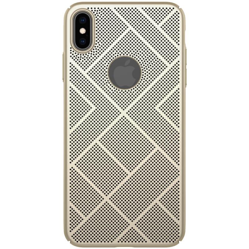 Zadní kryt Nillkin Air Case pro Apple iPhone XS Max, zlatá