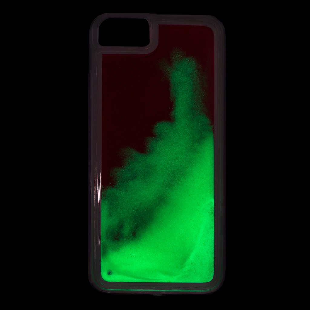 Kryt Tactical Neon Glowing pro Apple iPhone X/Xs, green
