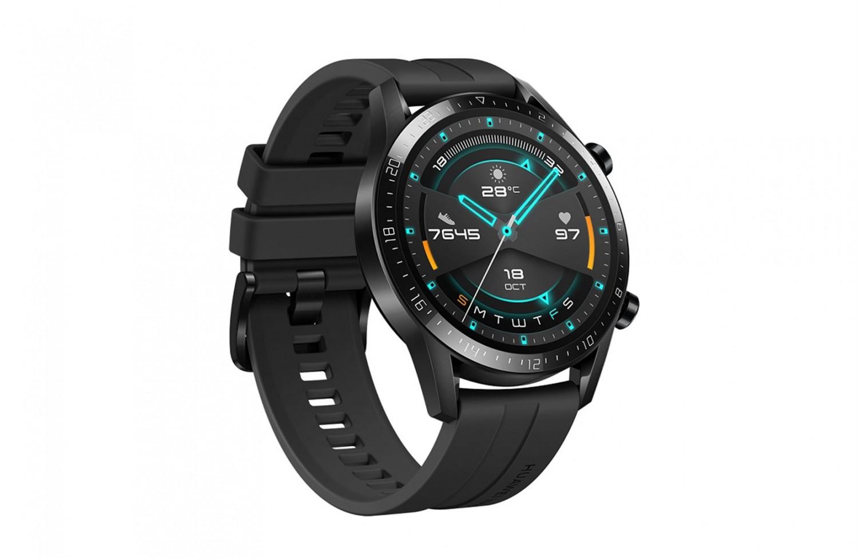 Huawei Watch GT 2 černá, Fluoroelastomerový pásek