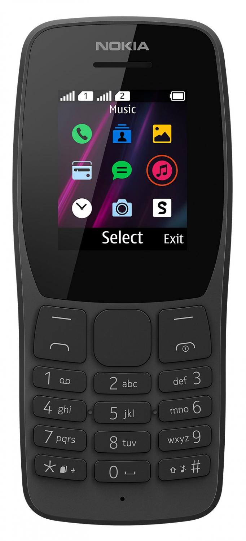 Nokia 110 (2019) černá