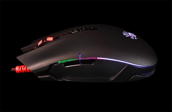 Herní myš A4tech BLOODY P80 PRO, RGB, 12000CPI, USB, CORE 3, černá