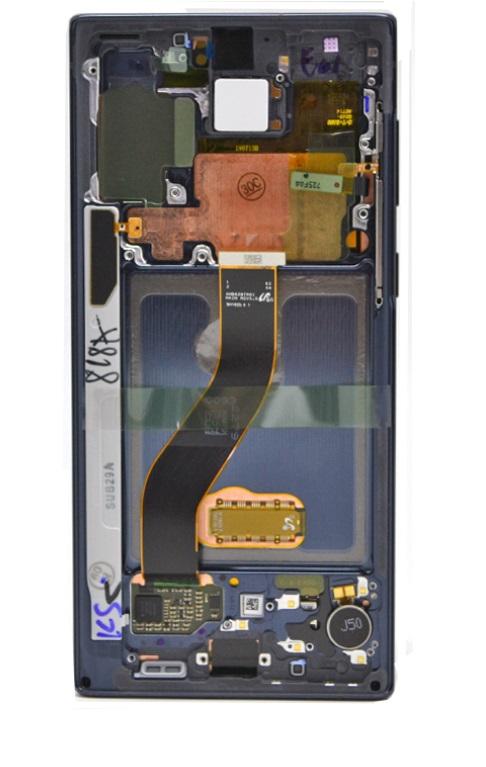 LCD + dotyk pro Samsung Galaxy Note 10, black (Service Pack)