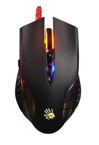 Herní myš A4tech BLOODY Q50, 3200DPI, USB, černá