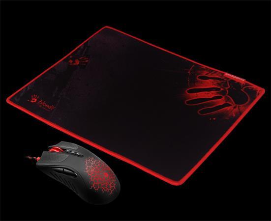 Set myši A90A A4tech BLOODY A9081A (sw Core 3) + podložka B-081, černá