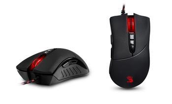 Herní myš A4tech BLOODY V3, až 3200DPI, 160KB paměť, USB, CORE 2, kovové podložky, černá
