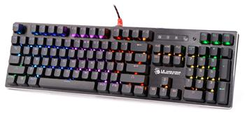 Herní klávesnice A4tech Bloody B820R mechanická RGB, USB, CZ, černá