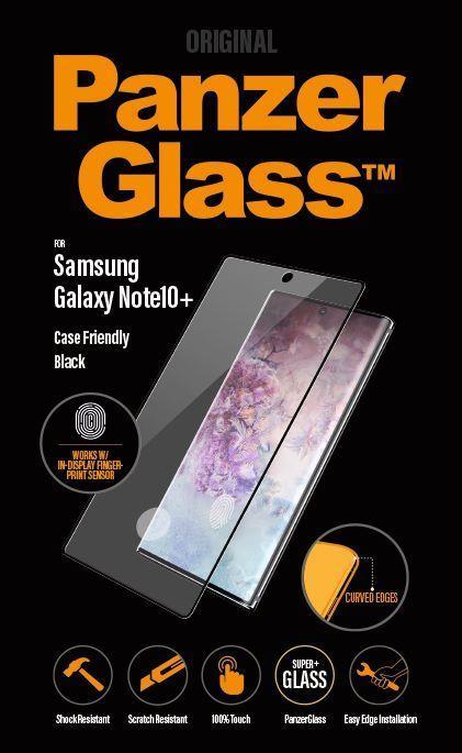 Ochranné sklo displeje PanzerGlass Premium pro Samsung Galaxy Note 10 Plus, černá