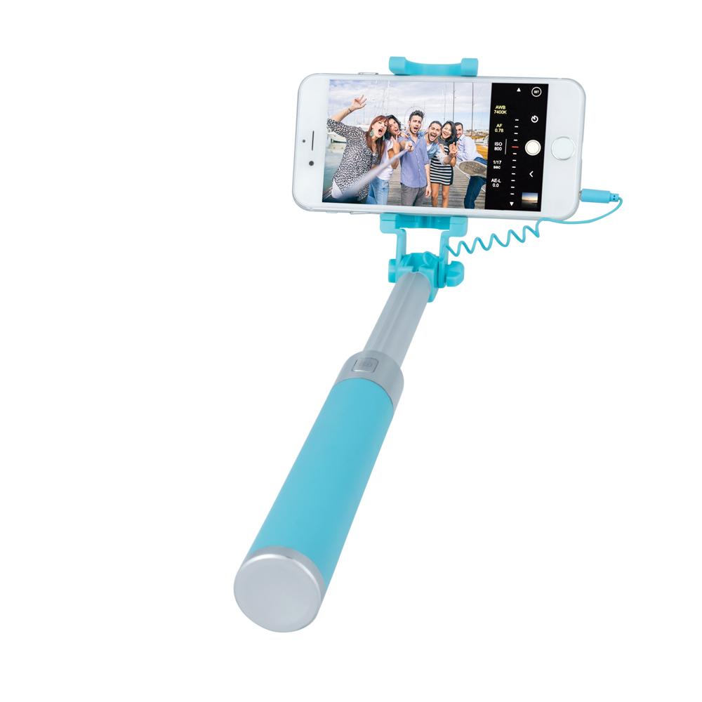 Selfie tyč Forever JMP-200, modrá