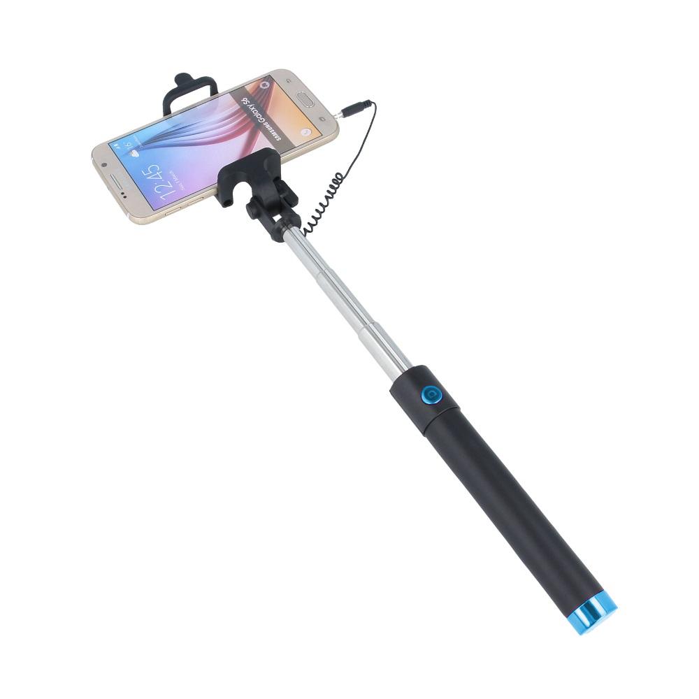 Selfie tyč Forever JMP-100, modrá