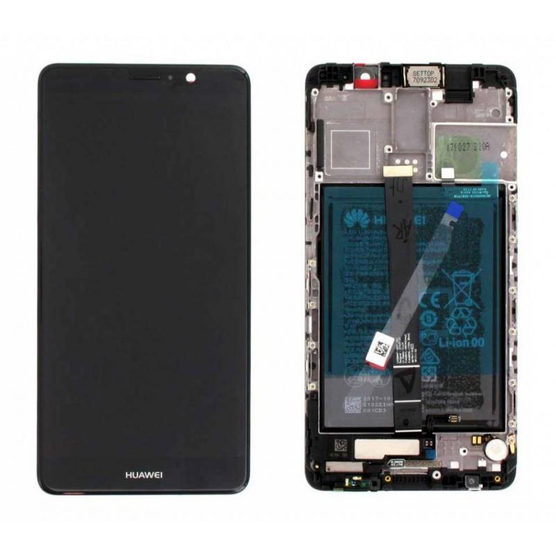 LCD + dotyk + rámeček + baterie pro Huawei Mate 9, black (Service Pack)