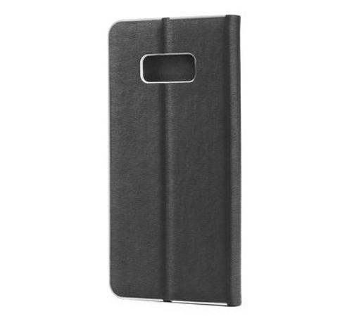 Pouzdro Forcell Luna Book Silver pro Samsung Galaxy A10, black